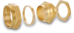 BRASS BW4 CABLE GLANDS