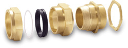 BRASS CW3 CABLE GLANDS